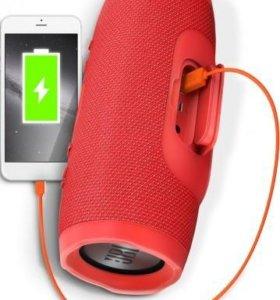 Колонка портативная JBL Charge 3 Red