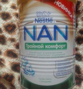 Детское питание с рождения NAN