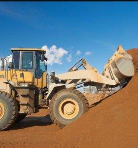 Песок щебень грунт