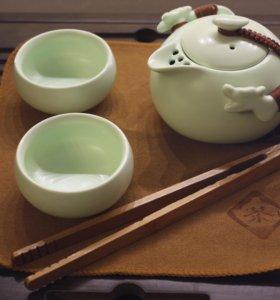 Переносной набор Чайник и пиалы