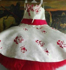 Платье детское пачка 7-8 лет