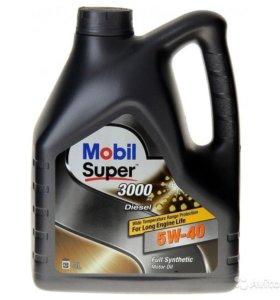 Моторное масло (4л) Mobil 1 5W40 Super (Дизель)