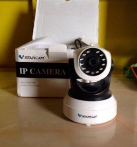 Видеокамера с записью и датчиком движения от 220v