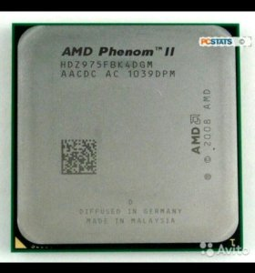 Комплект на AMD Phenom x4 975 3,6 GHz