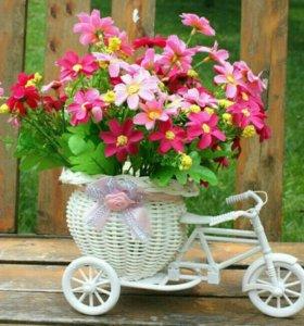 велосипедик для декора и цветов.