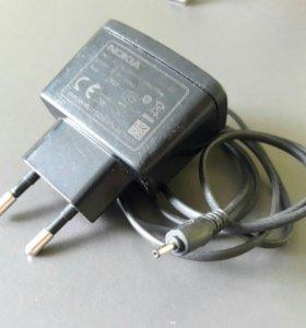 Зарядное устройство Nokia AC 3E тонкий штекер