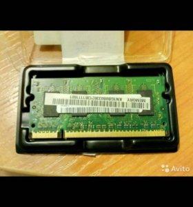 Модуль памяти для ноутбука( нетбука) so-dimm 1gb.