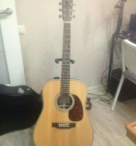 Электро акустическая гитара Sigma DR-28H