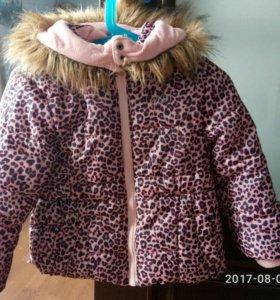 Куртка от +5 до - 10