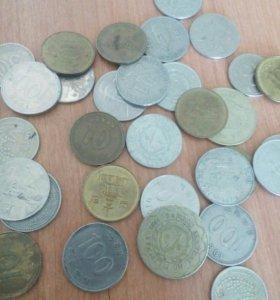 Корейская и Китайская валюта от 25р