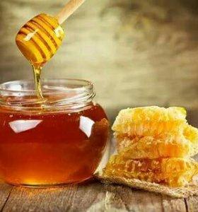 Мёд липовый, цветочный.