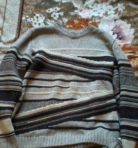Ручная работа, свитер мужской