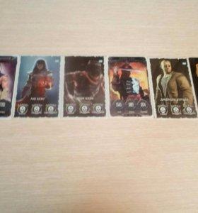 Карточки Mortol Combat