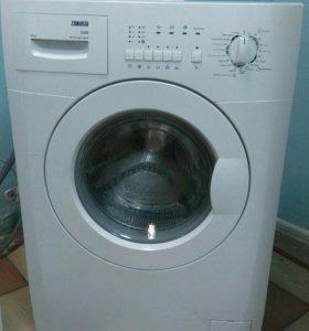 Узкая стиральная машина zanussi
