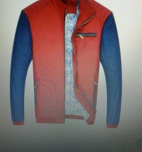 Куртка (тёплая ветровка) мужская