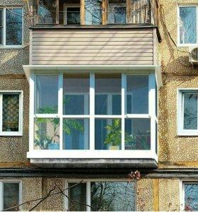 Французский балкон по размерам