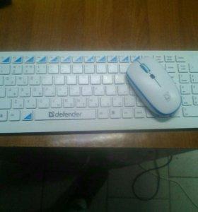 Клавиатура и мышь Defender Skyline 895 Nano W