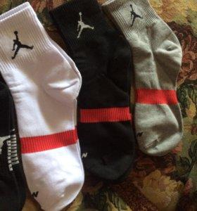 Носки puma nike(Jordan) Armani Reebok Adidas