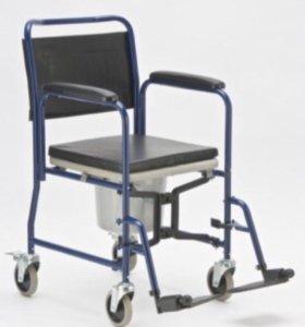 Кресло-каталка с туалетом