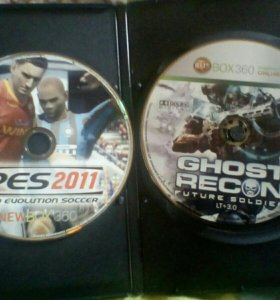 Ghost Recon,Pes 2011