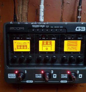 Процессор гитарных эффектов Zoom g3