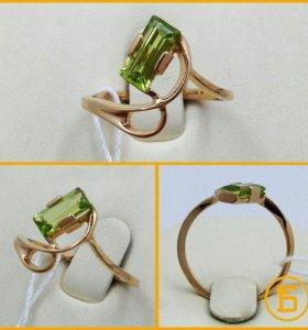 Золотое кольцо 585 пробы. Б306