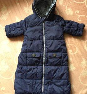 Детская куртка-конверт НОВАЯ