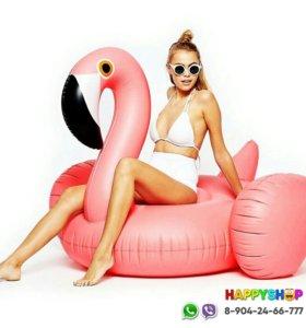 Надувной матрас Розовый Фламинго