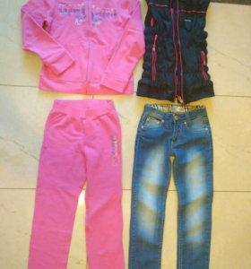 Одежда для девочки р 128-140