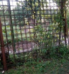 Ворота - решетка