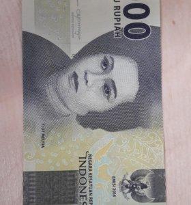 Индонезия - 1000 Рупии 2016 - 17 UNC