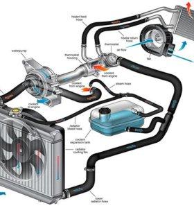 Радиаторы, помпы, вентиляторы,печки и др