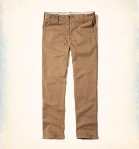 Штаны Hollister Slim Straight Chino Pants