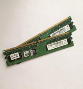 оперативная память(512 мб-1плашка)