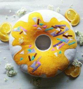 Игрушка Подушка пончик