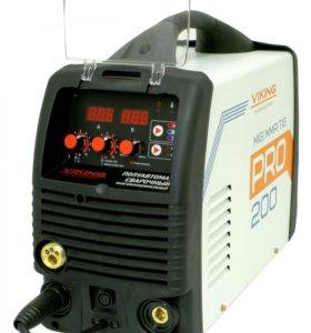 Сварочный полуавтомат VIKING PRO 200 MIG-MAG-FLUX