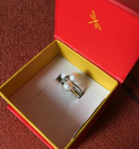 Кольцо серебряное Vangold