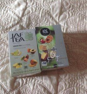 Чай зелёный в пакетиках с добавками