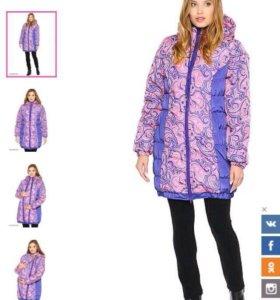 Куртка для беременных зимняя (слингокуртка 3 в 1)