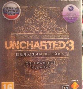 Диск игра UNCHARTED 3 для ps3