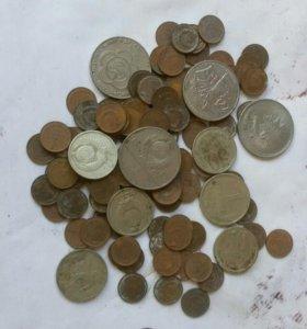 Монеты СССР (много)