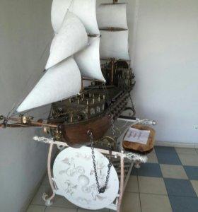 Мангал-корабль.