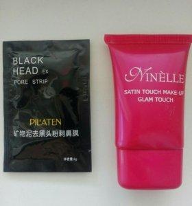 Тональный крем и black mask