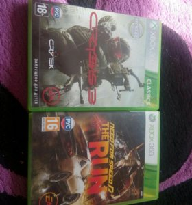 Игра Crysis3 и Need for speed The run