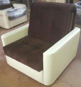 Доставка бесплатная! Кресло-Кровать Аккордеон 80
