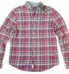 Рубашка фланель 100 % хлопок новая.