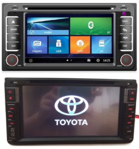 DVD магнитола Toyota 2din