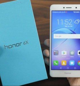 Смартфон Huawei Honor 6x 32Gb silver СРОЧНО!