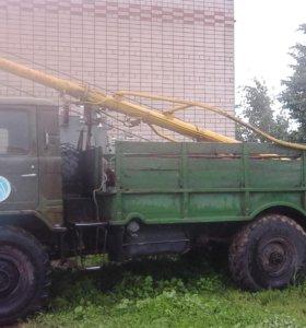 ГАЗ-6612 Автобур (бурильно-крановая машина)