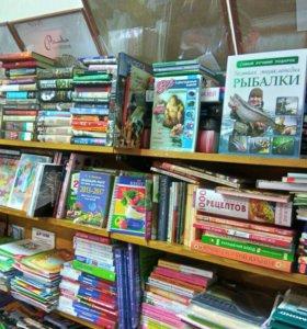 Книги, канцтовары, спинеры, игры